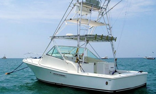 33' Sport Fishing Yacht Charter In Quepos