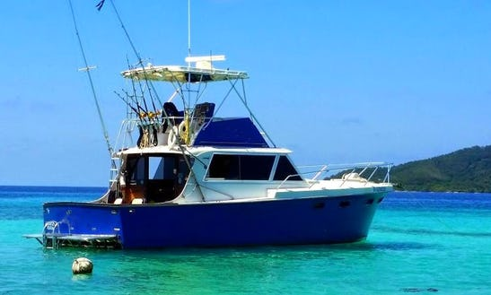 41' Hatteras Fishing Yacht In Sanday Bay