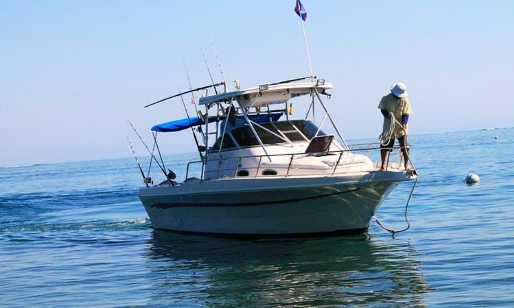 36' Pro-Line Fishing Boat In Punta Gorda, Belize