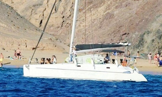 Charter A Cruising Catamaran In Playa Blanca, Spain