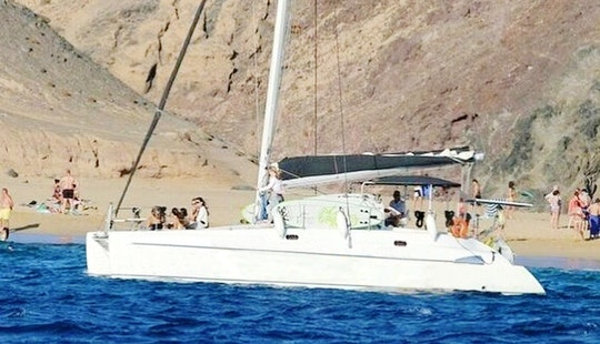 Charter A Cruising Catamaran In Playa Blanca, Spain