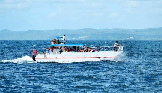 Charter 55' Power Catamaran In Samaná, Dominican Republic