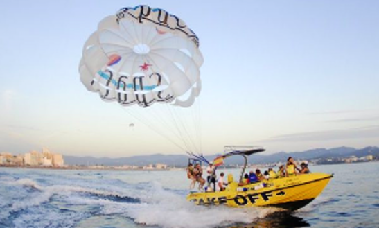 Enjoy Parasailing In Sant Antoni De Portmany, Spain