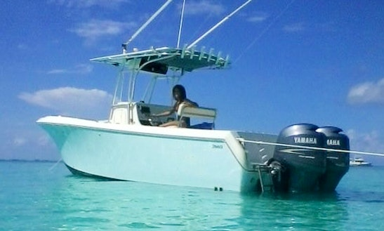 26' Center Console In Nassau, The Bahamas  (private Charters That Come With Crew Only)