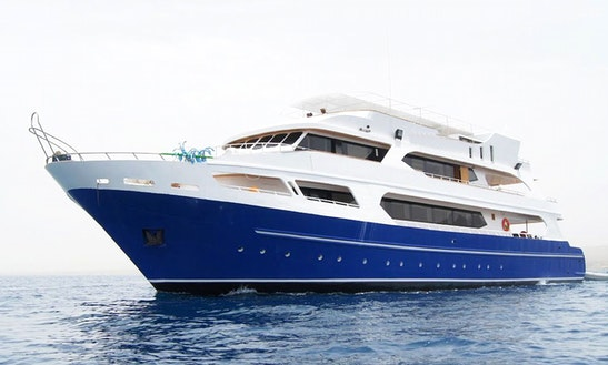 Motor Yacht 121 Rental In Maldives