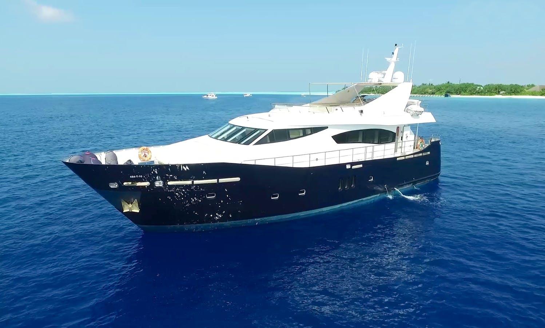 Luxury Yacht 79 in Maldives