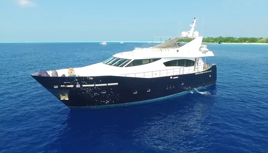 Luxury Yacht 79 In Maldives