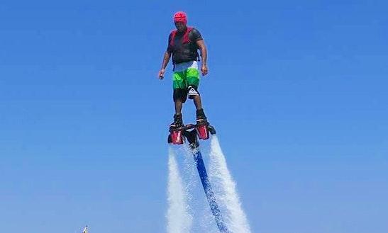 Flyboarding In Sant Josep De Sa Talaia, Ibiza