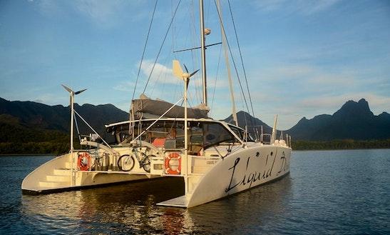 Charter 51' Liquid Desire Cruising Catamaran In Port Douglas, Australia