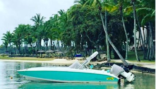Amazing 8 Person Bowrider Charter In Quatre Cocos, Mauritius