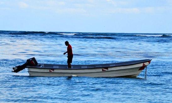 Dinghy Diving Charter In Las Galeras, Dominican Republic