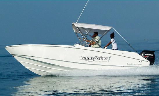 Enjoy Fishing In Flic En Flac, Mauritius On 26' Cuddy Cabin
