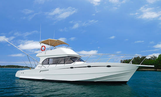 Enjoy Fishing In Trou D'eau Douce, Mauritius On 55' Royal Iii Sport Fisherman