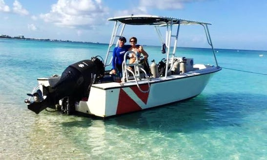 Boat Diving Charter In West Bay, Cayman Islands