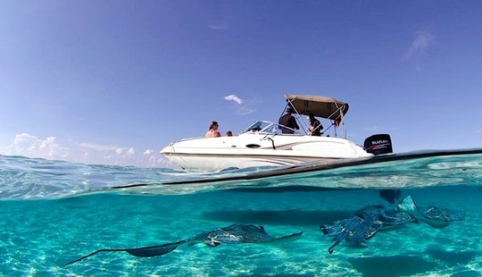 22' Deck Boat Captained Charter In Cayman