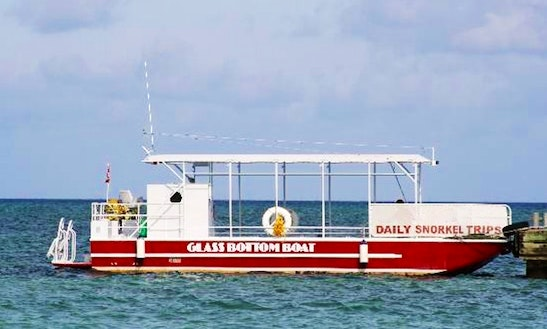 Glass Bottom Boat Tour In East End
