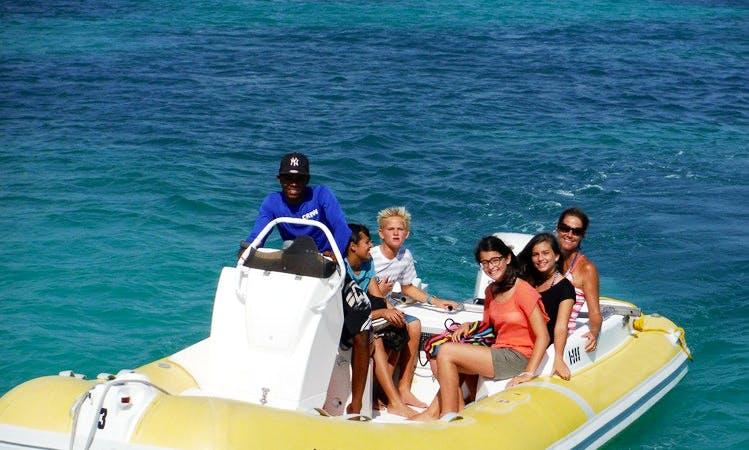 6 People Speedboat Rental in Noord, Aruba