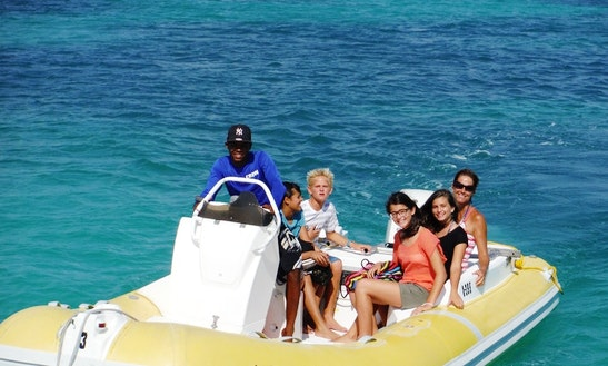 6 People Speedboat Rental In Noord, Aruba