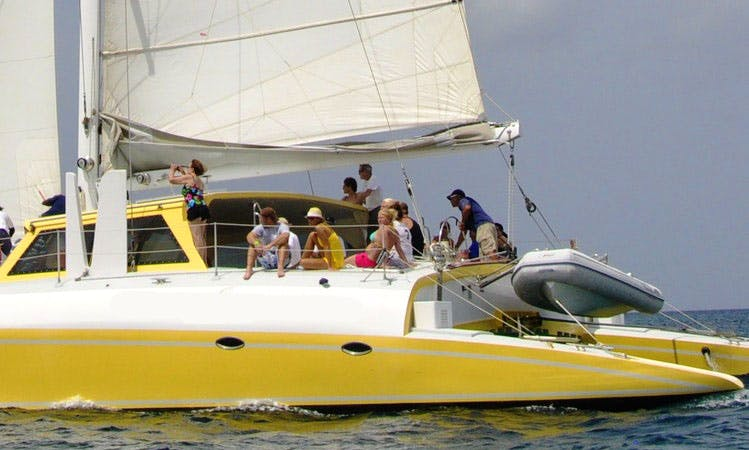 Cruising Catamaran Rental in St Kitts-Nevis