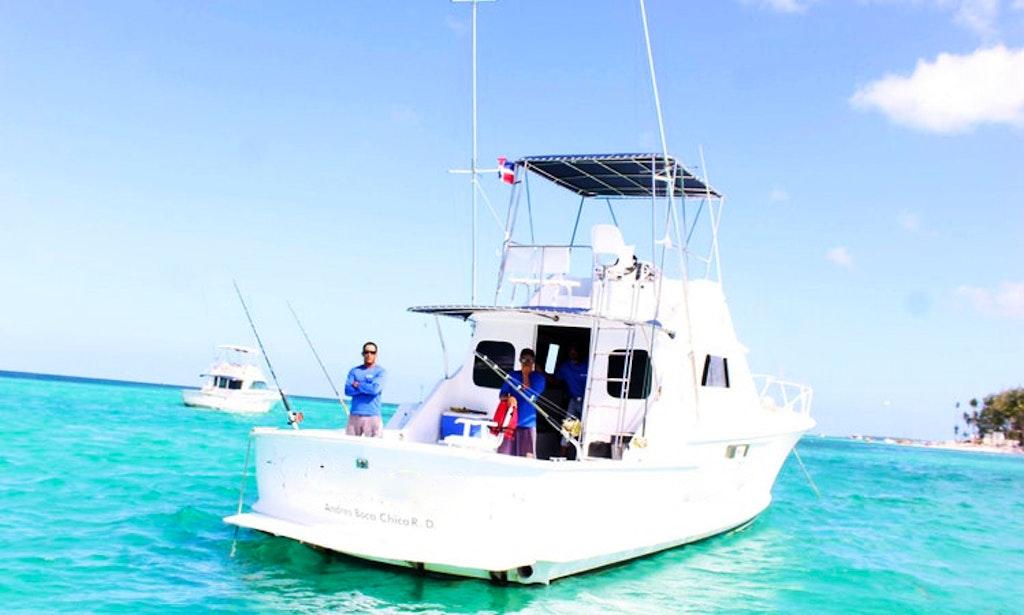 Punta cana fishing charter on 36ft sportfishing yacht for Punta cana fishing charters