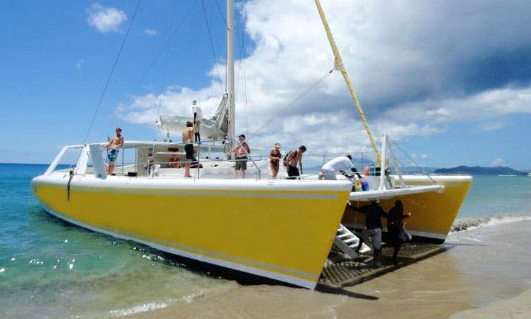 Sailing Catamaran Cruises in St Kitts-Nevis