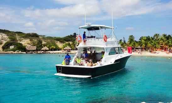 Enjoy Klein Curacao Island Trip On 46ft