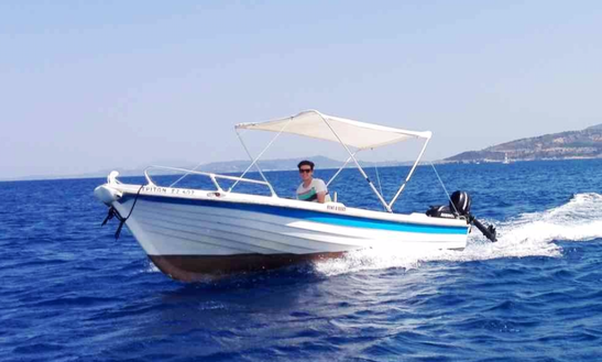 Rent Triton Center Console In Askos, Greece