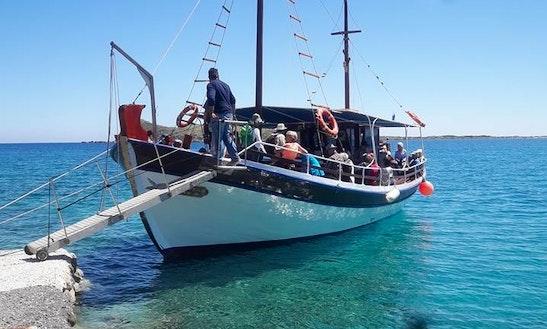 Charter 49' Archaggelos 1 Gulet In Schisma Elountas, Greece