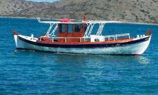 Charter 43' Archaggelos 2 Passenger Boat In Schisma Elountas, Greece