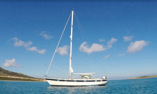 Charter A Classic Hallberg-rassy 49 With A Local Skipper!