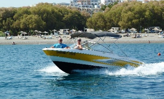 Charter A Bowrider In Rodos, Greece