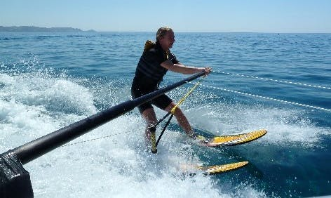 Enjoy Water Skiing in Rodos, Greece