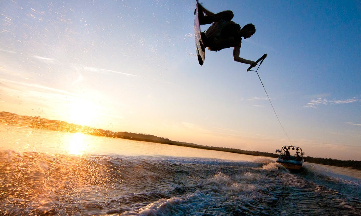 Wakeboarding in Basel with Instructor Dex