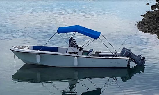 Enjoy Fishing In Dunmore Town, Bahamas On Center Console