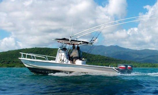 26ft Center Console Fishing Boat In Fajardo, Puerto Rico