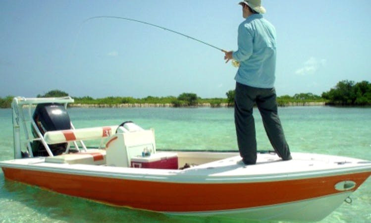 Bonefishing Charter in Center, Anegada, British Virgin Islands