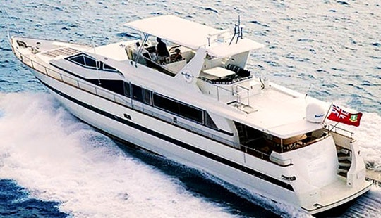 82' Motor Yacht Charter In Charlotte Amalie, U.s. Virgin Islands