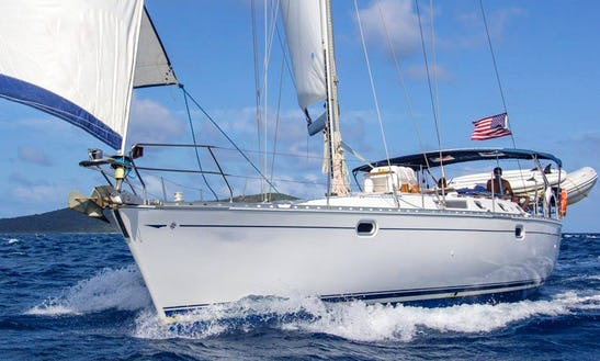 Captained Charter On 50' Sailing Yacht In Charlotte Amalie, Usvi