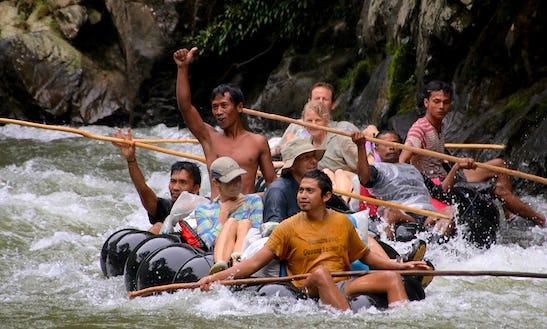 One Day Rafting Adventure In Bohorok, Indonesia