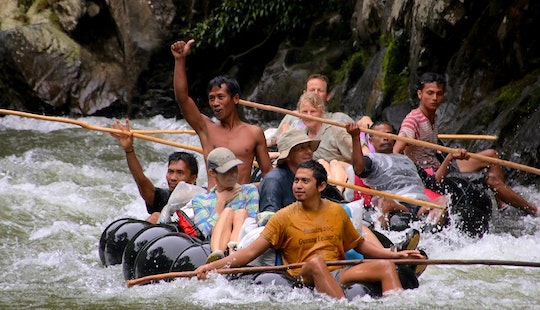 One Day Rafting Adventure In Bohorok, Indonesia