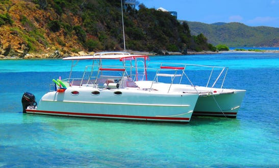 Power Catamaran Rental In St. Thomas