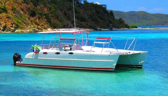 Power Catamaran Rental In St. Thomas