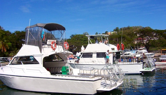 42ft And 32ft Dive And Snorkel Boat Rental In Marigot Bay