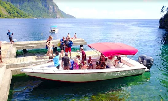 Charter 28' Bowrider In Castries, Saint Lucia