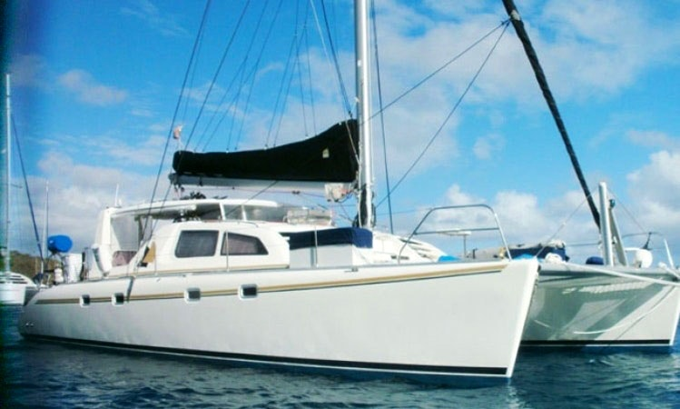 Charter 45 Quot Two If By Sea Quot Catamaran Yacht In Caribbean