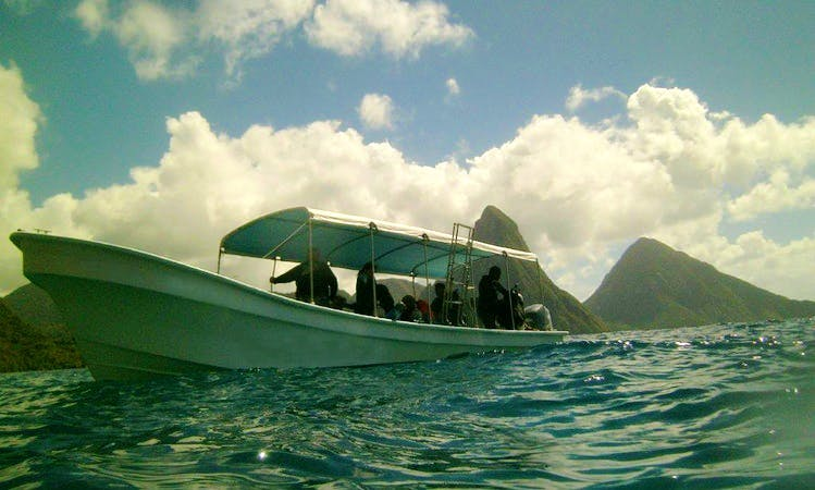 Discovering Scuba Diving In Rodney Bay