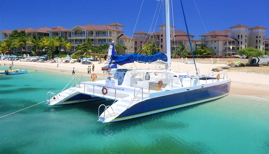Sailing Catamaran Tours In St Lucia