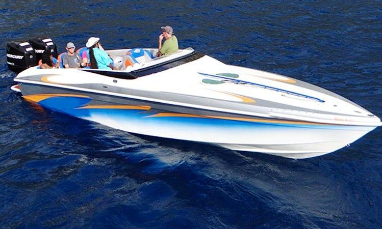 Charter 30' Speedboat In St. Lucia