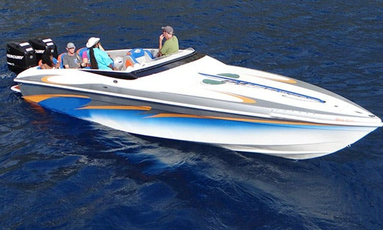Charter 30' Speedboat In St. Lucia