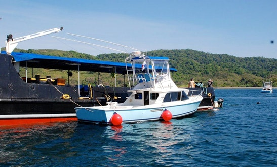 Have The Ultimate Fishing Adventure Wit The 31' Sport Fisherman Charter In Veraguas, Panama